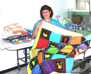 Bonnie Dwyer & quilts