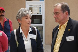 Rose Marie and Dr. Bill DeShazo, Medical Director