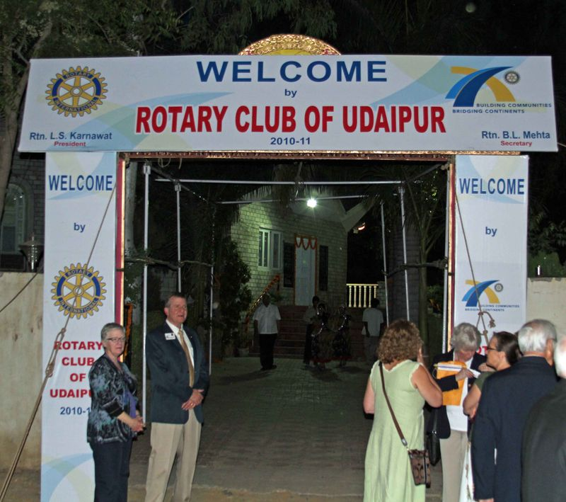 Udaipur rotary sign
