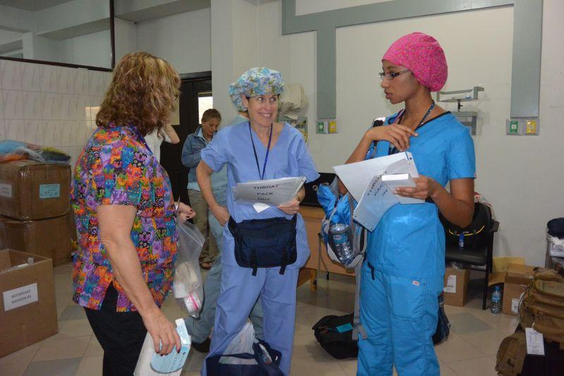 Or nurses op day 1